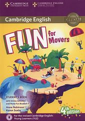 Fun for Movers Student's Book + Online Activities + Audio + Home Fun Booklet 4
