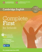 Complete First for Schools Workbook with answers + CD