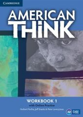 American Think 1 Workbook with Online Practice