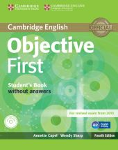 Objective First Student's Book without Answers