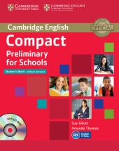 Compact Preliminary for Schools Student's Book + CD
