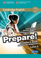 Cambridge English Prepare! 2 Student's Book + Online workbook