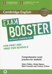 Cambridge English Exam Booster for First and First for Schools with Audio Comprehensive Exam Practice for Students