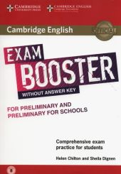 Cambridge English Exam Booster for Preliminary and Preliminary for Schools with Audio Comprehensive Exam Practice for Students
