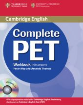 Complete PET Workbook with answers + CD