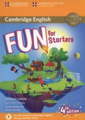 Fun for Starters Student's Book + Online Activities