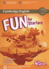 Fun for Starters Teacher's Book + Downloadable Audio