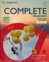 Complete Preliminary Self Study Pack (SB w Answers w Online Practice and WB w Answers w Audio Download and Class Audio)