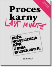 Last Minute Proces Karny 2019