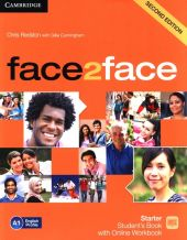 face2face Starter Student's Book with Online Workbook