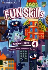 Fun Skills Level 4 Movers Students Book with Home Booklet and Mini Trainer with Downloadable Audio