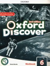 Oxford Discover Level 6 Workbook with Online Practice