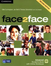 face2face Advanced Student's Book with Online Workbook